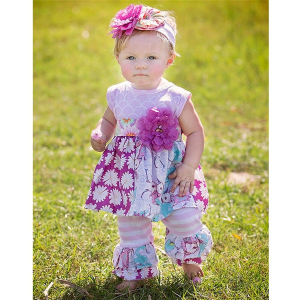 Haute Baby Simply Sweet Tunic Set (sz 0/3m-4T) SPRING 2016 PREORDER