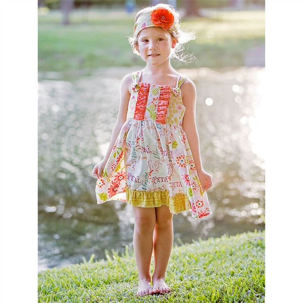 Haute Baby Spring Zing Dress (sz 2T-10) SPRING 2016 PREORDER