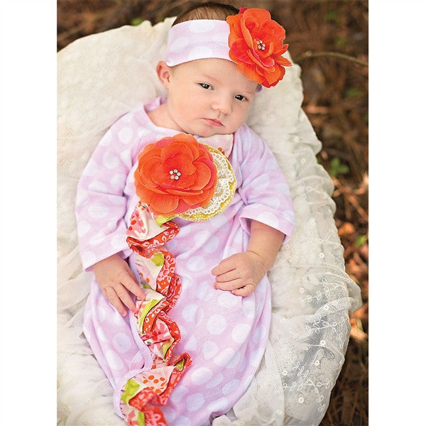 Haute Baby Spring Zing Gown (sz 0-3m)