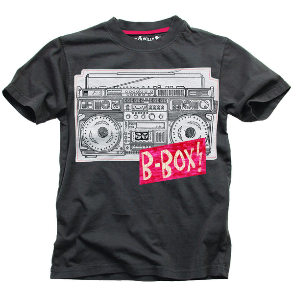 Wes and Willy B-Box S/S Tee (sz 2T, S/8 last ones)