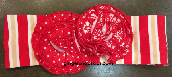 Serendipity Candy Cane Lane Headband (sz INF, TOD, GIRL)