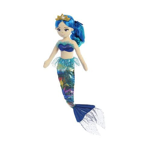 Indigo Rainbow Mermaid Doll