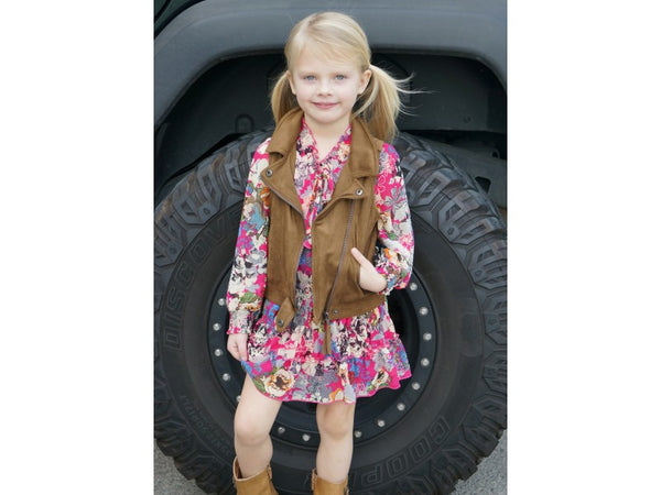 Hannah Banana Gorgeous Boho Floral Dress (sz 4 - 14)