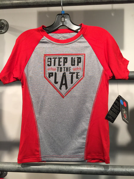 Wes and Willy Step Up Performance Tee (sz 4-6)