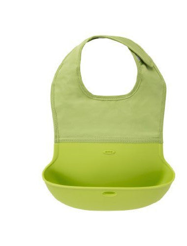 OXO Roll Up Bib (Pink, Green, Aqua)