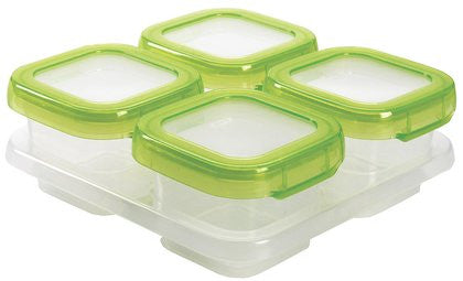 OXO Baby Blocks Freezer Storage Containers (4 oz)