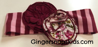 Serendipity Sugar Plum Headband (sz INF-GIRL)