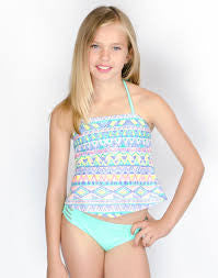 Gossip Girl Sundown Tankini Swimsuit (sz 7-16)
