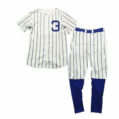 Wes and Willy Ruth Baseball Pajamas (sz 12m-10)