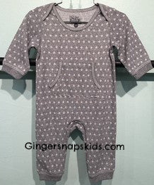 Kapital K Star Collection Grey Star Coverall (sz 6/9m last one)
