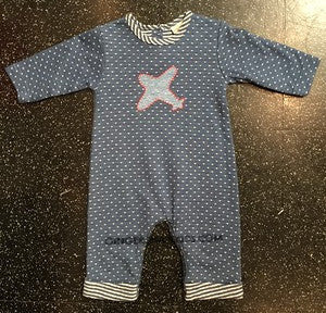 Cach Cach Air Academy Romper (sz 6m last ones)