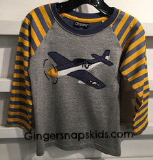 Fighter Plane Tee (sz 5/6 last one)