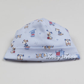Kissy Kissy Boys Sweater Weather Print Hat (sz NB, 0/3m)