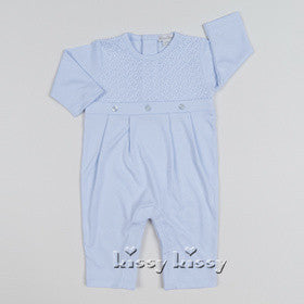 Kissy Kissy Boys Blissful Playsuit (sz 0/3m, 3/6m)