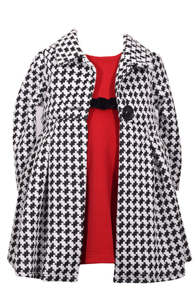Dress & Houndstooth Coat Set (sz 2T-6X) | FALL 2017 PREORDER
