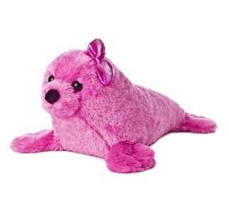 Pink Furry Seal