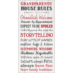 Granparents Rules Sign