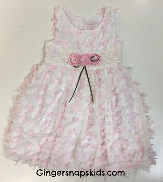 Cach Cach Lilacs and Lace Dress (sz 2T-6X)