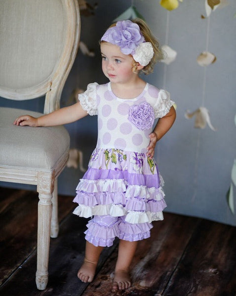 Giggle Moon True Vine Tutu Dress & Capri Set (sz 3m-4T)