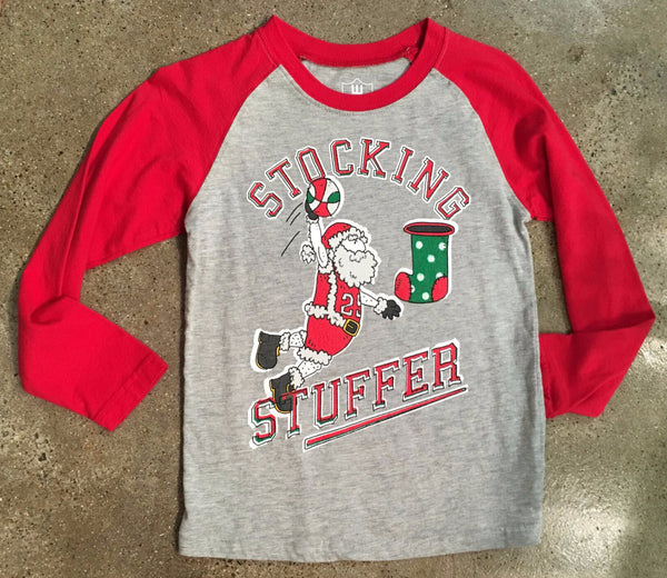 Wes and Willy Stocking Stuffer Tee (sz 4-M)