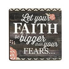 Let Your Faith Be Bigger Magnet