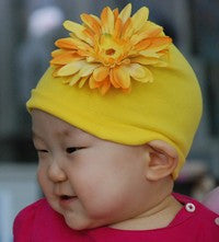 Jaime Rae Flower Daisy Hat  (many color choices) sz baby-girls
