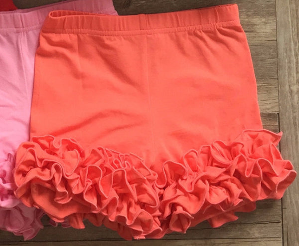 Serendipity Dipity Coral Icing Shorties (sz 12m-6)