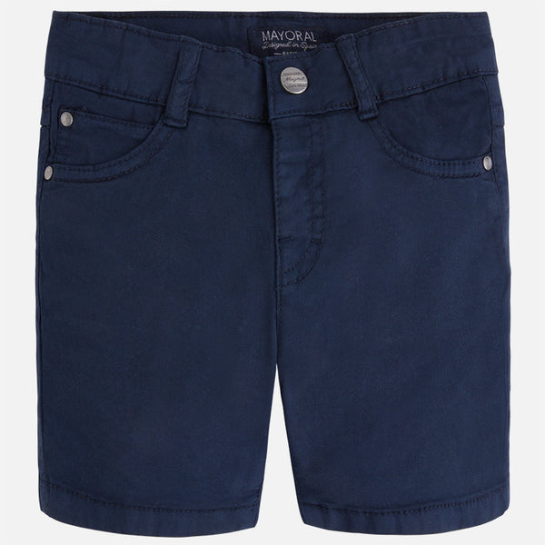 Mayoral Boys Navy Basic 5 Pocket Shorts (sz 2-7)