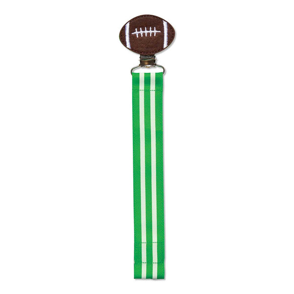 Football Pacifier Clip