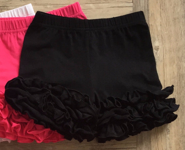 Serendipity Dipity Black Icing Shorties (sz 2t-6)