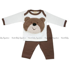 Haute Baby Bear Wear Leggings Set (sz 0-24mo)