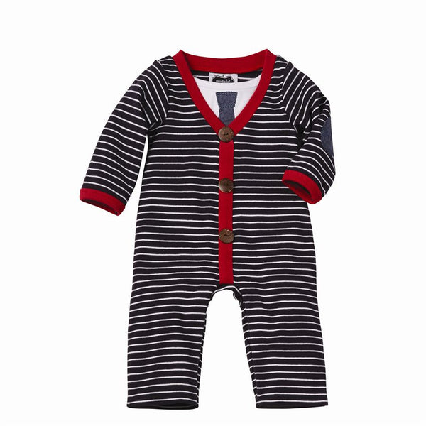 Mud Pie Cardigan Coverall (sz 6m-18m)