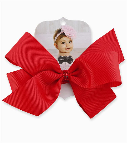 Mud Pie JumBow Red Soft Headband