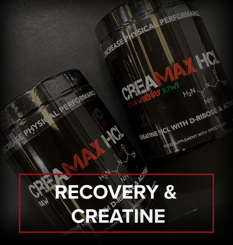 Recovery, cell volumisers and creatine products