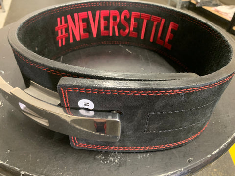 #TEAMSTROM #neversettle '10mm Lever Belt'