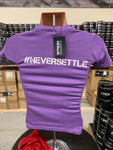 #TEAMSTROM #neversettle Womens T-Shirt 'Purple'