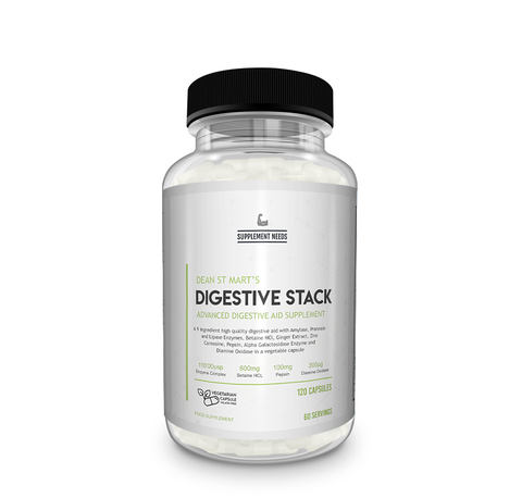 Supplement needs - Digestive Stack