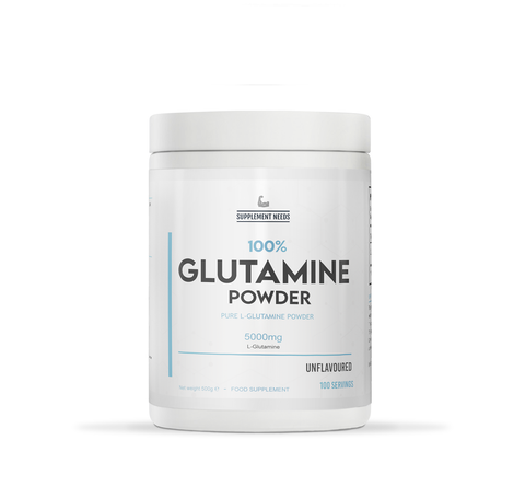 SUPPLEMENT NEEDS 100% GLUTAMINE - 500G