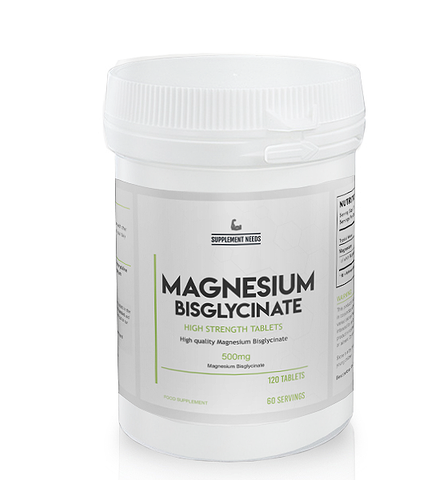 SUPPLEMENT NEEDS MAGNESIUM BISGLYCINATE - 120 tablets