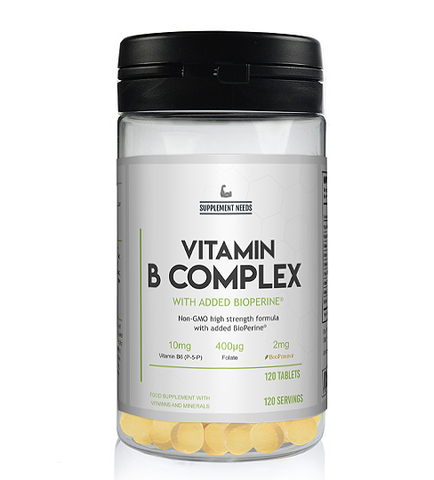 SUPPLEMENT NEEDS VITAMIN B COMPLEX - 120 TABS