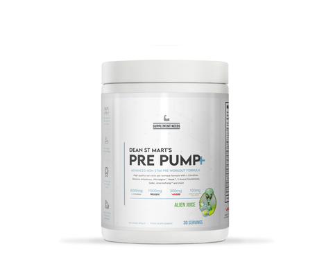Supplement Needs - Pre Pump+