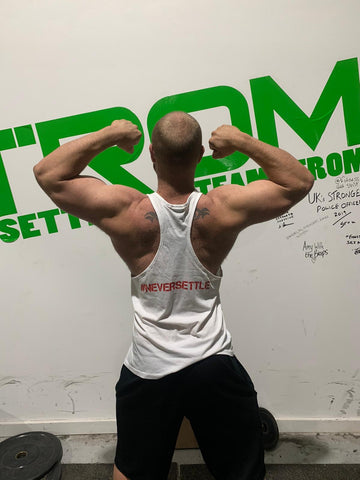 #TEAMSTROM #neversettle Stringer Vests