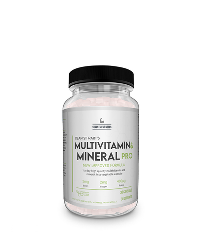 SUPPLEMENT NEEDS MULTI VITAMIN AND MINERAL Pro - 30 caps