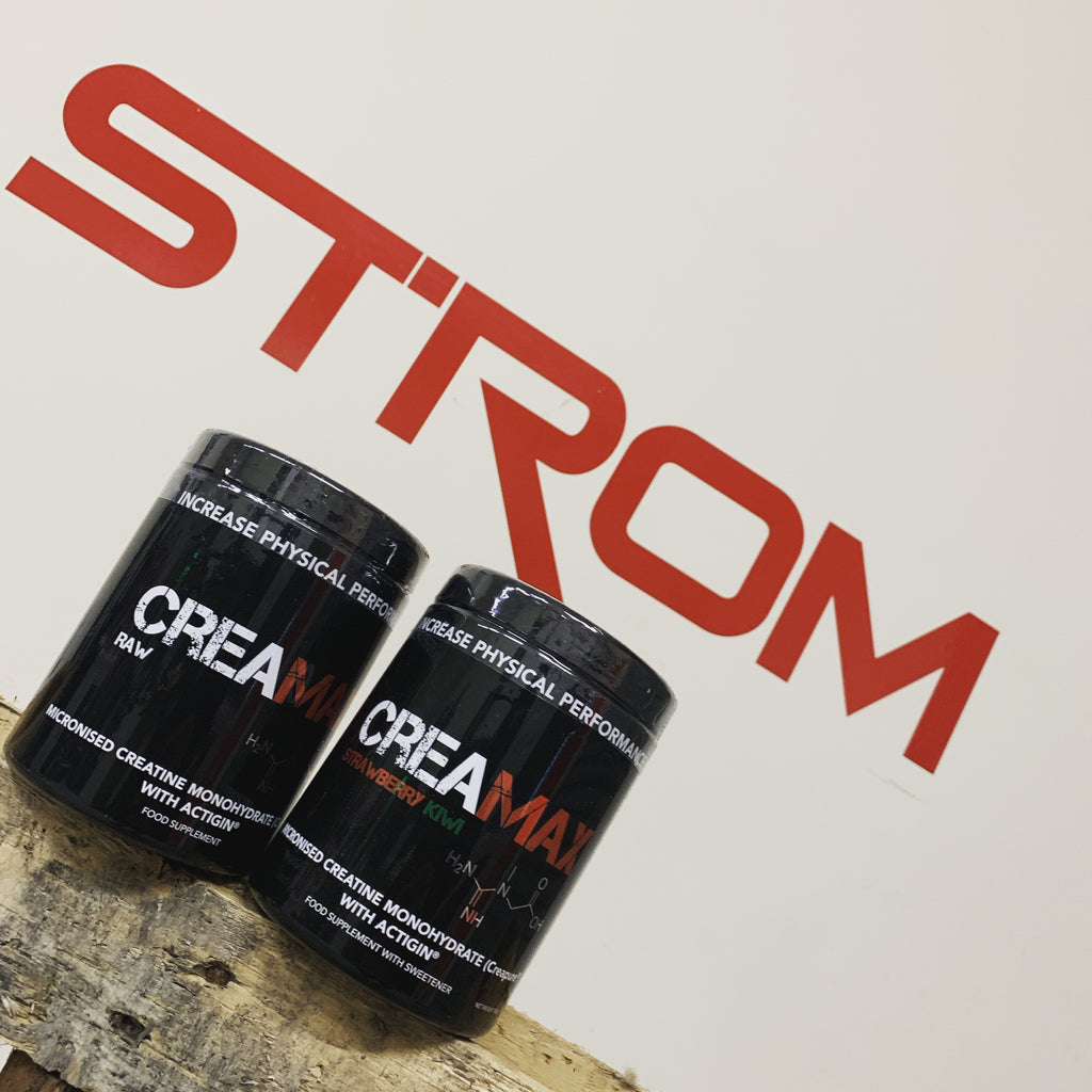 Strom presents - CreaMAX with patented Creapure®