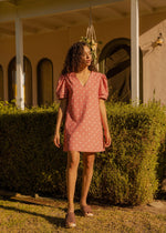 The Polka Pink Dress