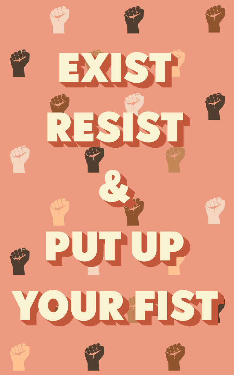 RESIST POSTER (PROCEEDS FOR PROTESTERS)