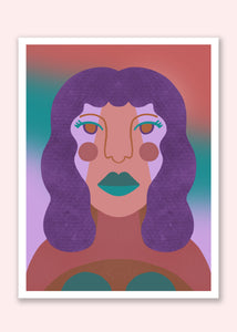Purly Art Print