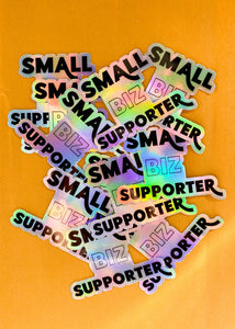 Small Biz Sticker