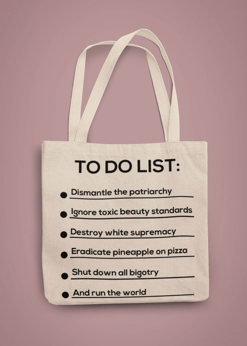 To Do List Tote