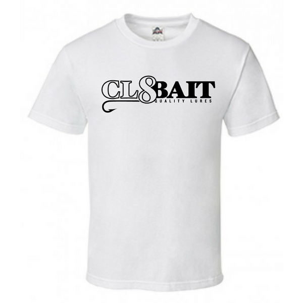 Cl8bait Short Sleeve White T-shirt